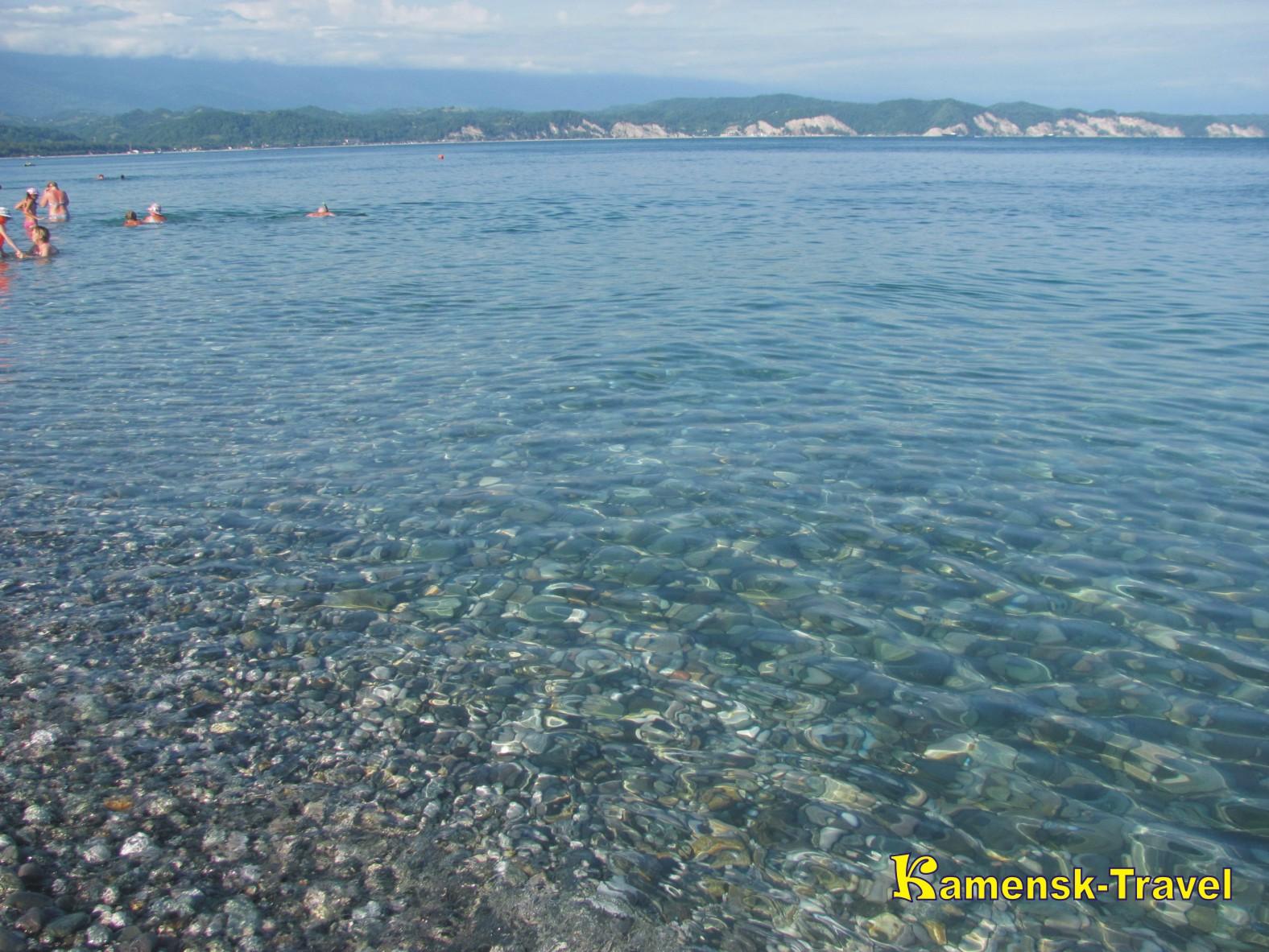 Море и пляжи абхазии фото