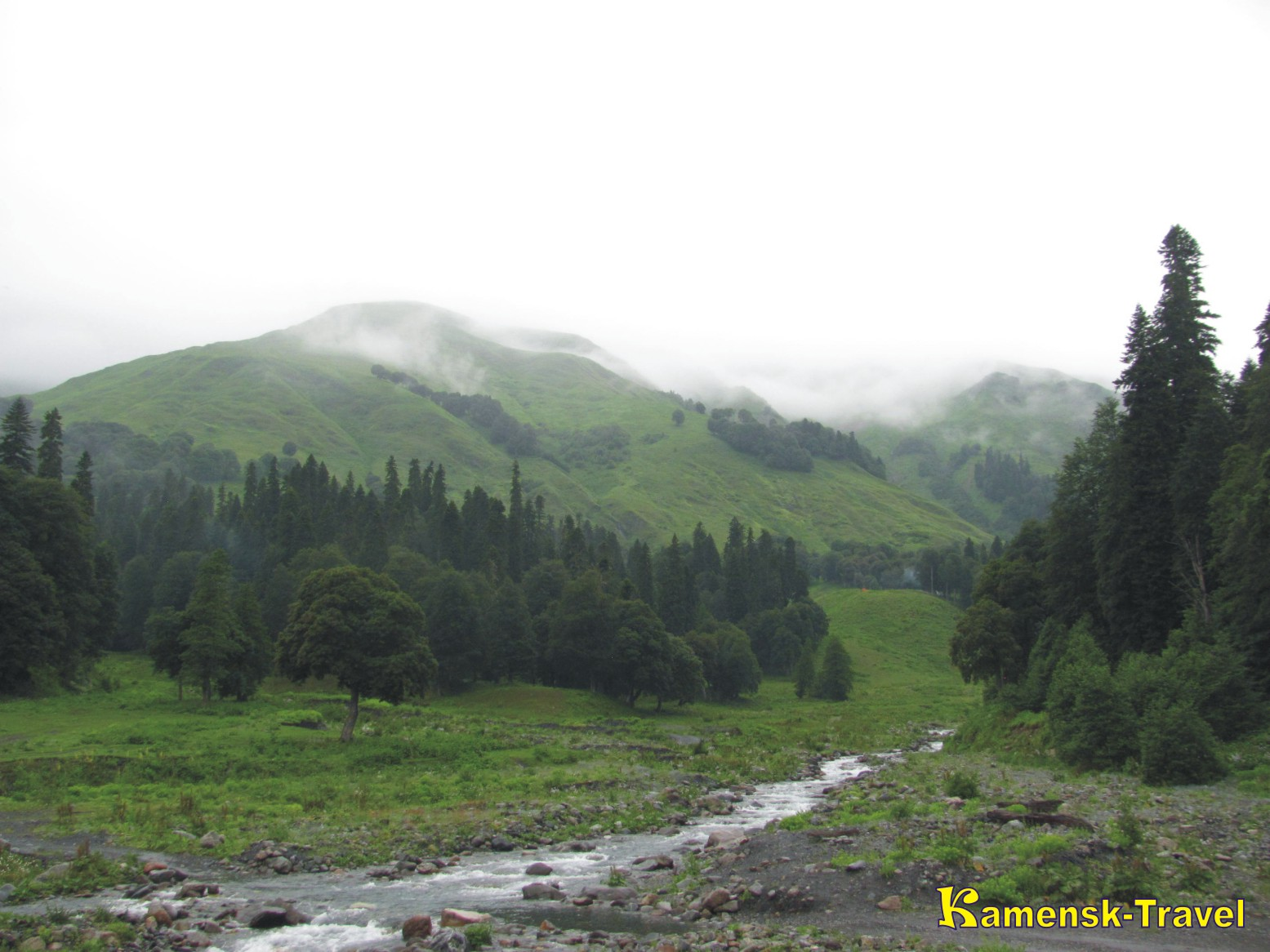 Альпийские луга Абхазия