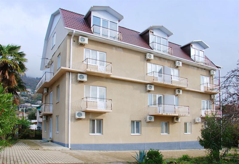 Общий вид гостиницы Морская