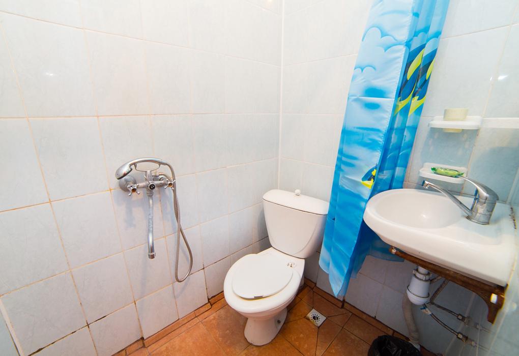 туалет и душ гостиница Морская