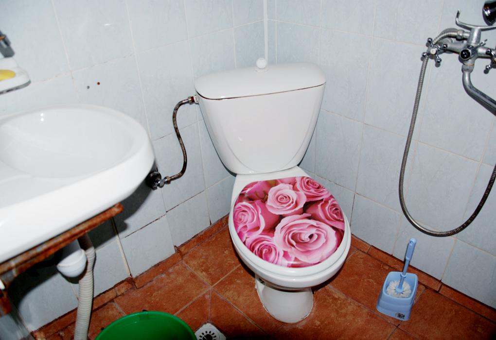 туалет в отеле Морская